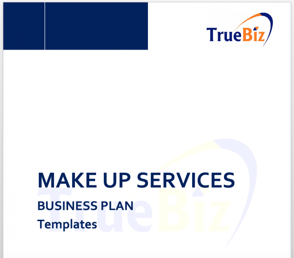 MAKE UP SERVICES BUSINESS PLAN Templates