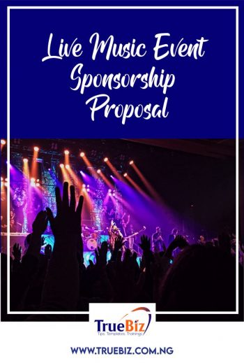 Live Music & Cookout Event Proposal