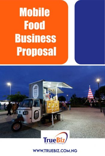 Mobile Food Business Proposal